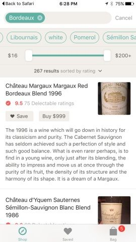Banquet - Shop Top Wine Stores by Delectable Screenshots