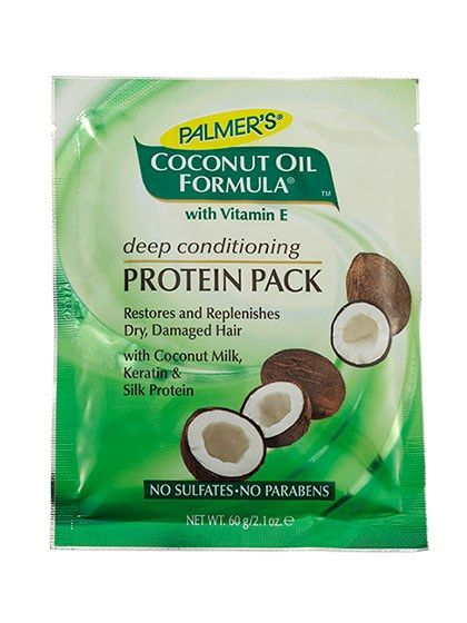 Pure and simple, this supermoisturizing mix of coconut oil and coconut milk quenches dry, damaged hair while maintaining bounce.