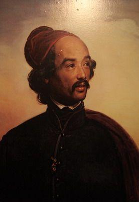 Raden Saleh Sjarif Boestaman pelukis naturalist
