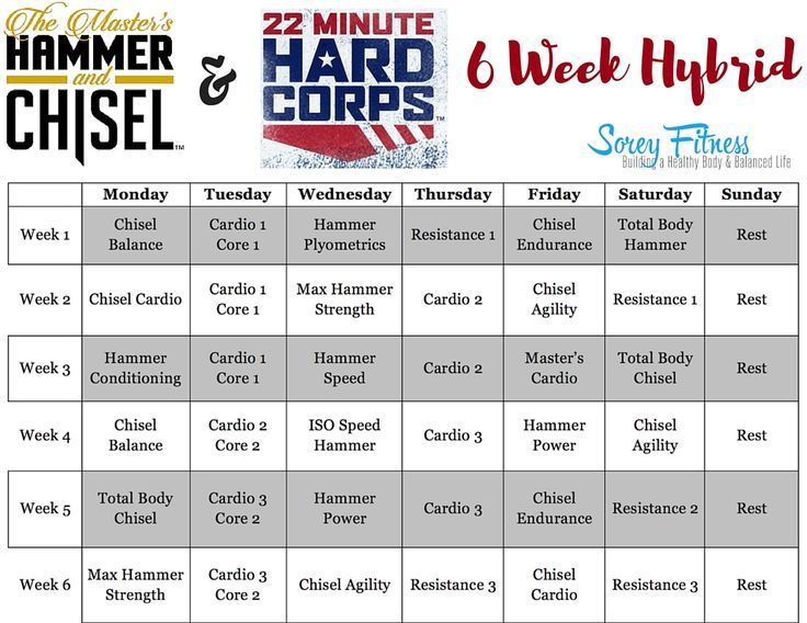 22 best Beachbody Hybrids images on Pinterest Workout calendar - workout calendar