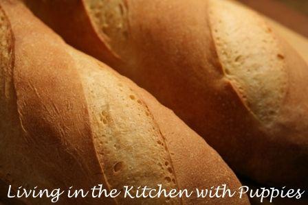 Living in the Kitchen with Puppies: Durum Semolina Bread