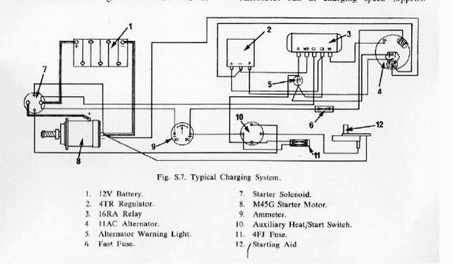 Perkins 4108 Wiring Diagram  With Images