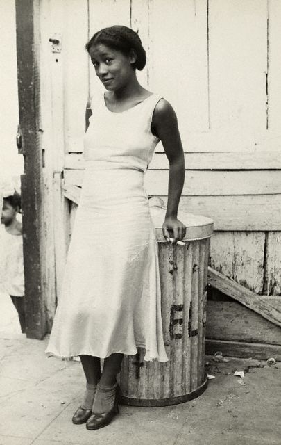 Walker Evans American, 1903 – 1975 Woman in a Courtyard 1933 via artblart.wordpress.com
