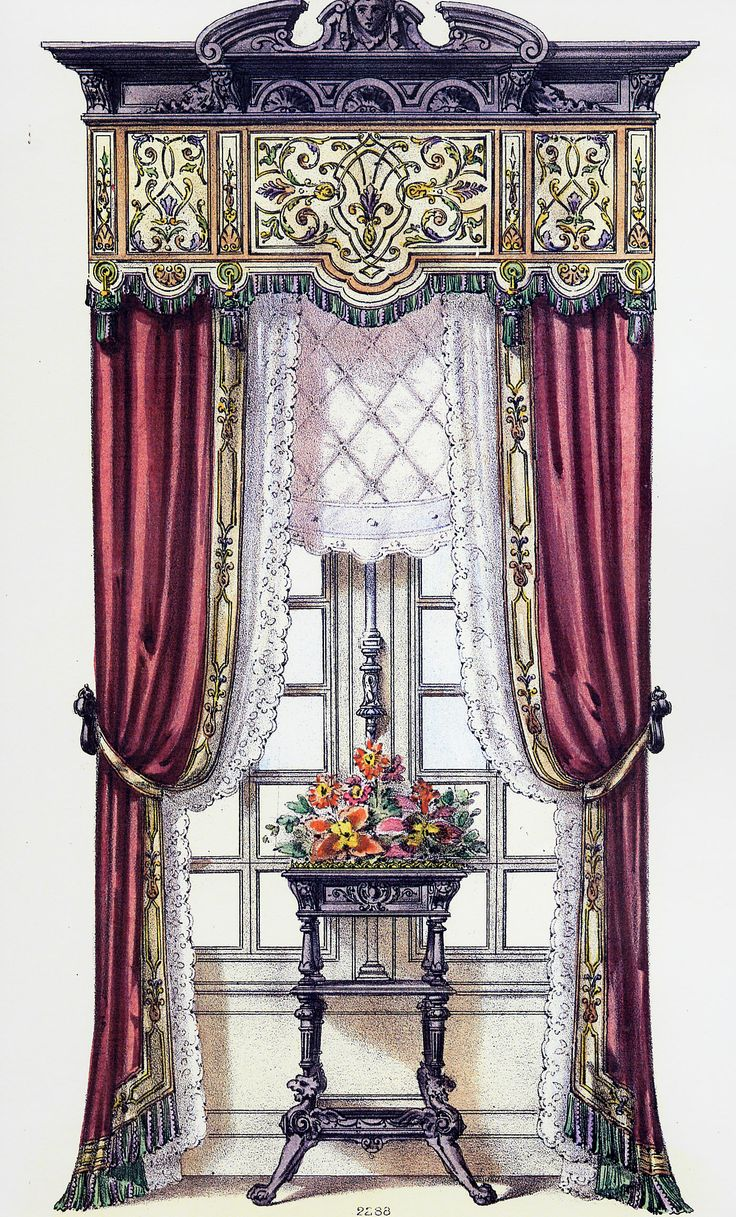 1000 Images About Portiers Drapery And Curtains On Pinterest