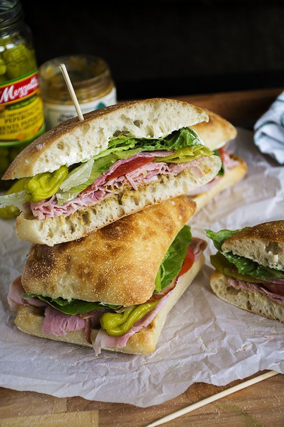 Italian Corner Deli Sandwich