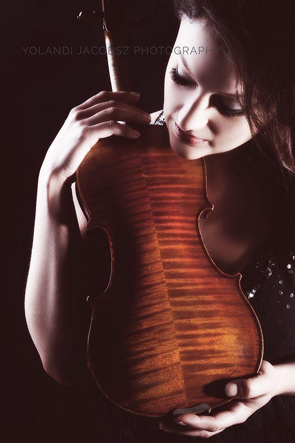We used her beautiful #violin for her amazing #portfolio #shoot....
