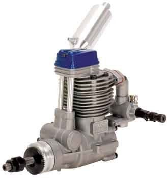 "Magnum XL 52 RFS Blue -R/C 4 Stroke Engine (RC) by Magnum. $183.99. Weight: 15.7 oz    Exhaust thread size: M10 x 0.75. Displacement: 52ci (8.53cc). Practical RPM: 2,000 - 10,500. Stroke: 21mm. Bore: 23mm. This is the perfect engine for """"40"""" size two-stroke aircraft which can handle the slightly bigger size and weight of a four-stroke engine. This is probably the best sub-60 size sport four-stroke ever designed!."