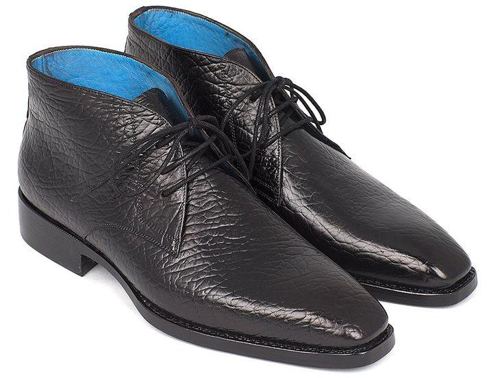 Paul Parkman Black Chukka Boots