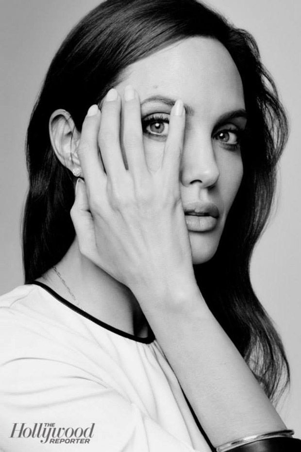 Angelina Jolie for The Hollywood Reporter by Joe Pugliese