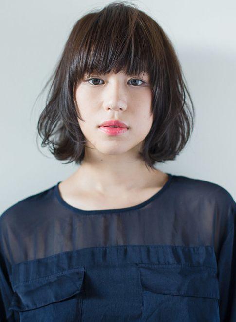 ニュアンスハネ感ボブ 【BLANCO casual 原宿】 http://beautynavi.woman.excite.co.jp/salon/18887?pint ≪ #bobhair #bobstyle #bobhairstyle #hairstyle・ボブ・ヘアスタイル・髪型・髪形 ≫