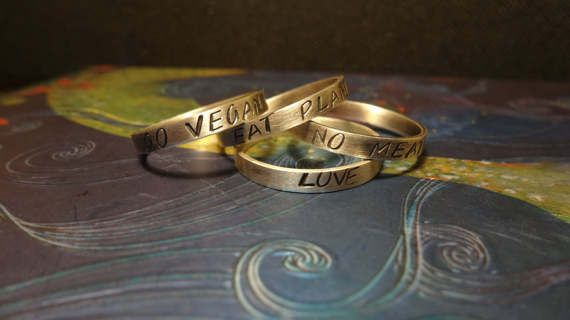 Sterling Silver Personalized Ring by IndiejewelsShop on Etsy