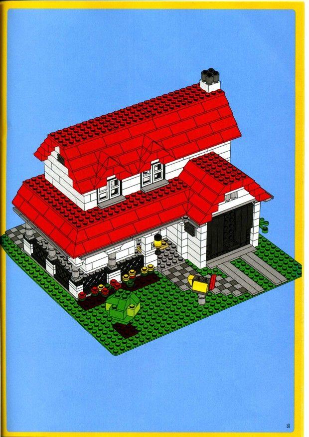 old lego instructions legos pinterest. Black Bedroom Furniture Sets. Home Design Ideas