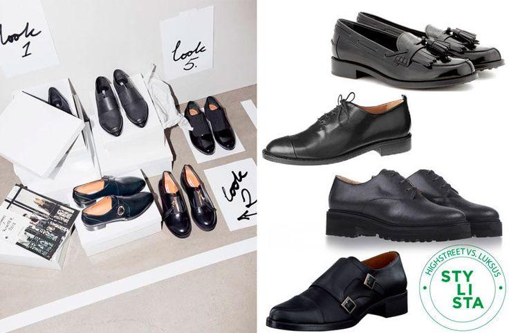 Highstreet vs. luksus: 10 herreinspirerede sko