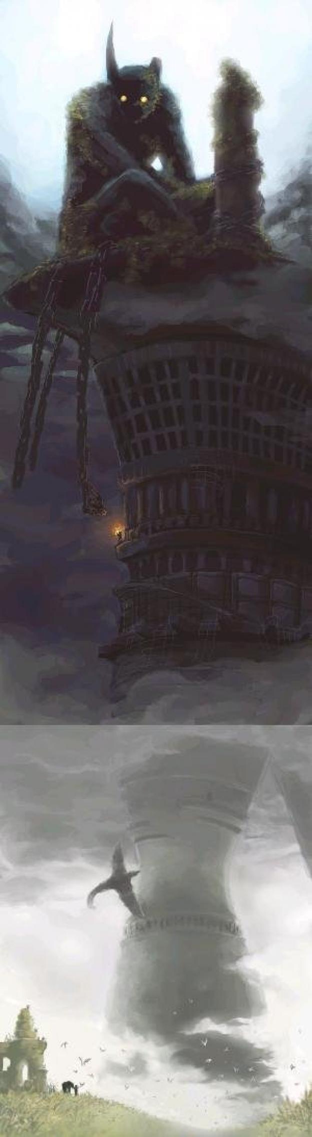 Shadow of the Colossus - Dormin, Avion