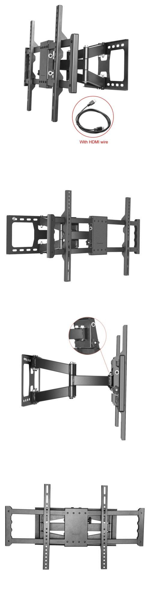 TV Mounts and Brackets: Full Motion Tilt Plasma Lcd Led Tv Wall Mount Bracket42 46 50 55 60 62 -> BUY IT NOW ONLY: $35.99 on eBay!
