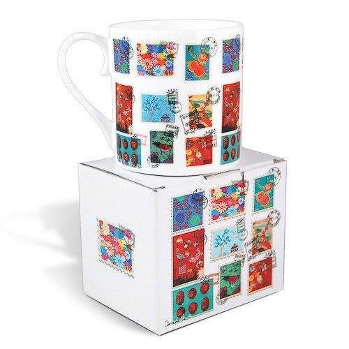 A Christopher Vine Design Gift Mug is a classic, featuring high quality bone china and shaped to fit under a Coffee Machine! Safe for Dishwasher and Microwave use.