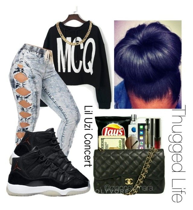 Lil Uzi Concert | Thugged Life | Youngin' by ziannakimara on Polyvore featuring polyvore fashion style clothing