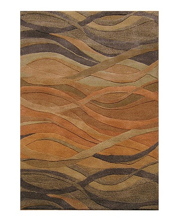 Take a look at this Caramel Metro Classic Rug by Horizon Home Rugs on #zulily today!