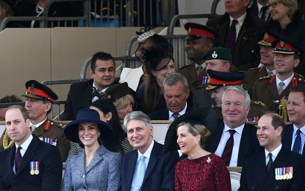 Newmyroyals-War Memorial Unveiling, London, March 9, 2017-Duke and Duchess of Cambridge and Earl and Countess of Wessex