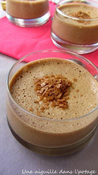 mousse au chocolat, pralinoise, aux fourneaux, 4 blancs d'oeuf, lait, facile