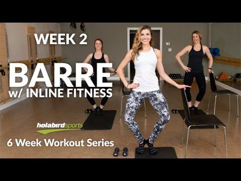 Calorie Blasting Barre Workout You Can Do AT HOME - YouTube