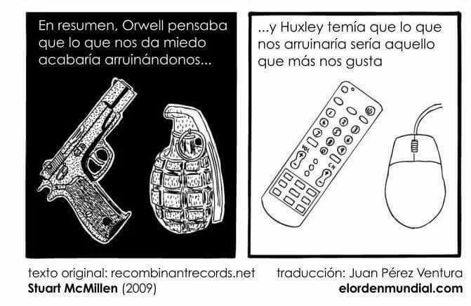Comparacion De Un Mundo Feliz De A Huxley Y 1984 De G Orwell 11 Un Mundo Feliz Libros Pensando En Ti
