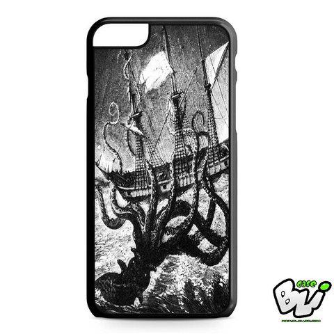 Kraken Old Vintage Painting iPhone 6 Plus Case | iPhone 6S Plus Case