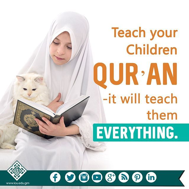 You could give your children all the 'things' in the Dunya but if you are not giving them the Deen, then you are not giving them anything at all. #selfnote