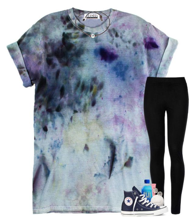 """"""""""" by pineappleprincess1012 ❤ liked on Polyvore featuring Wolford, Converse and Kate Spade"""