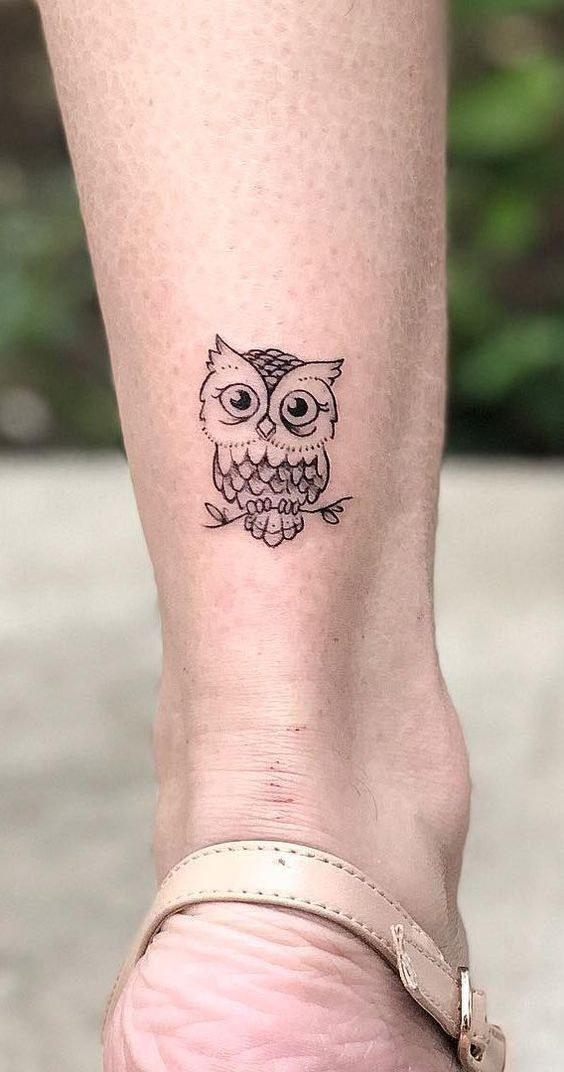 550fae733 50 of the Most Beautiful Owl Tattoo Designs and Their Meaning for the  Nocturnal Animal in You | Inspirational | Owl tattoo design, Owl tattoo  small e Tattoo ...