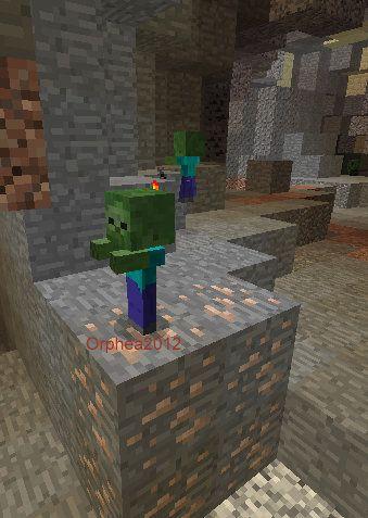 Orphea2012 Youtube et Minecraft: Minecraft / Des bébés zombies qui courent partout ...