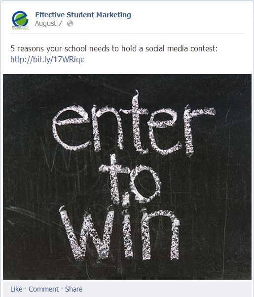 5 Facebook best practices to start applying to your school's social media strategy! #highered #inbound13 #Facebook