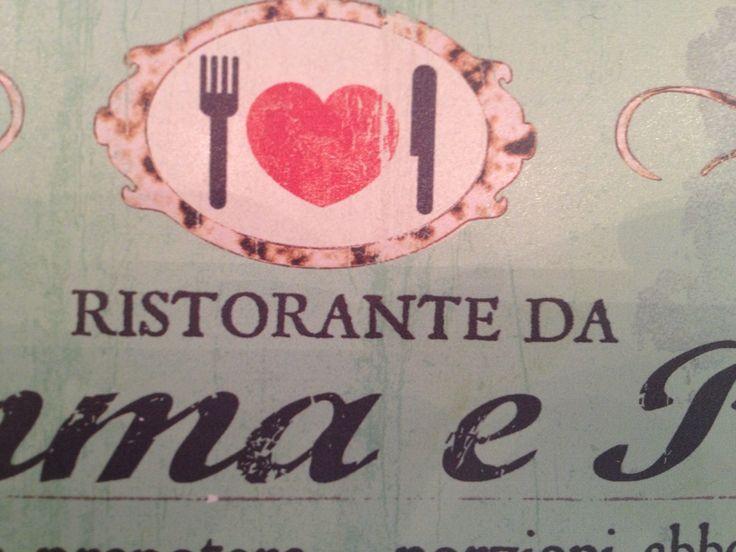 Bordje uit Italië, hoofdletters, horizontaal