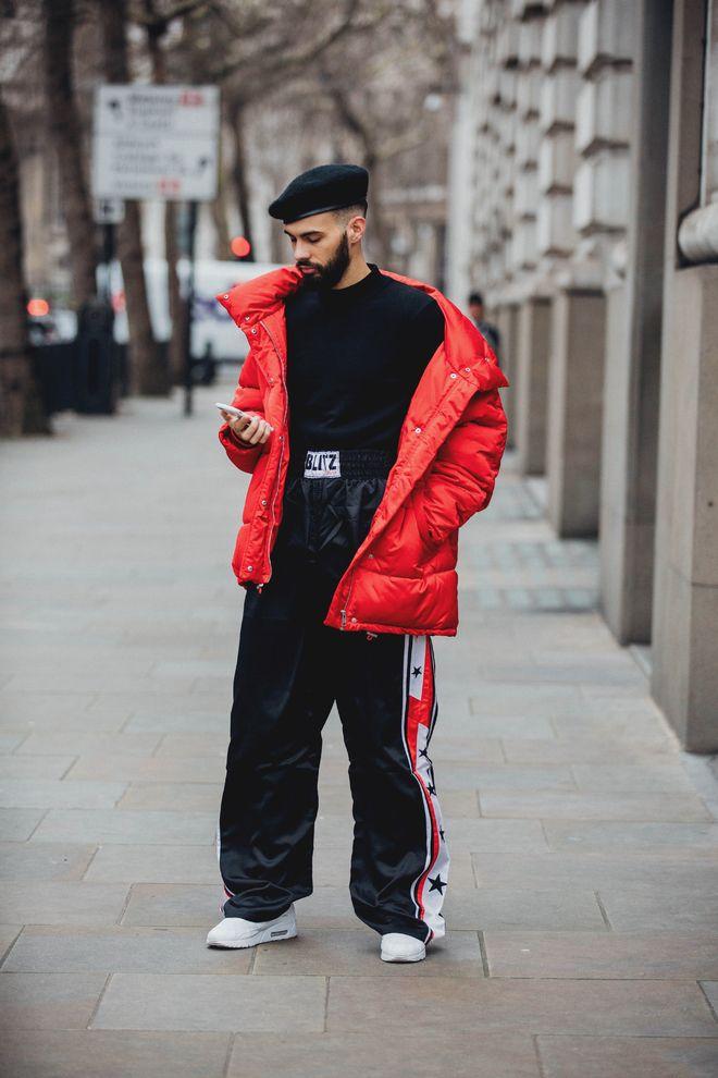 Street style à la Fashion Week homme automne,hiver 2018,2019 de Londres