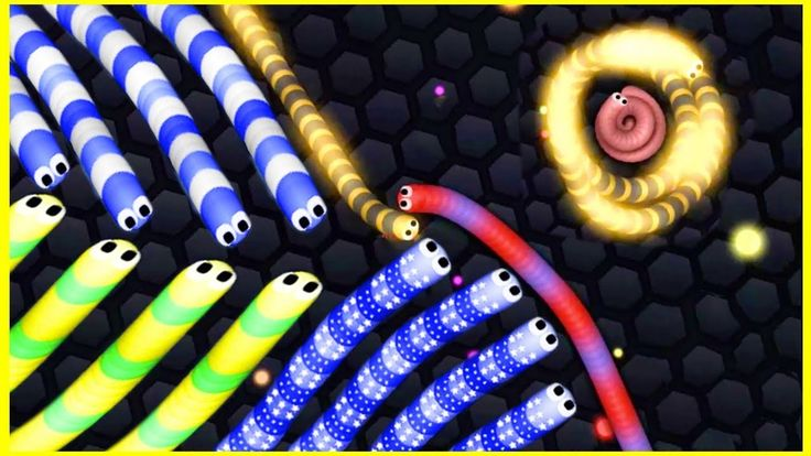 Slither.io BAD GIANT SNAKE vs 1000 SNAKES! - Slitherio Gameplay! / Slith...