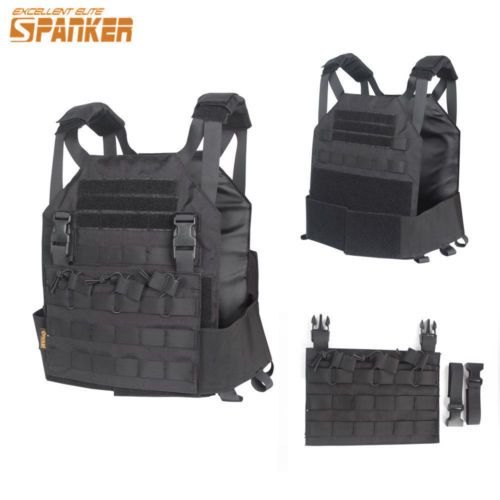 Children Tactical Vest Military Molle Plate Carrier JPC Vest 1050D Nylon Costume