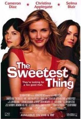 The Sweetest Thing 2002 Movie Poster 27x40 Used Cameron Diaz, Selma Blair, Christina Applegate