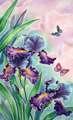 pintura de seda:                                                       …