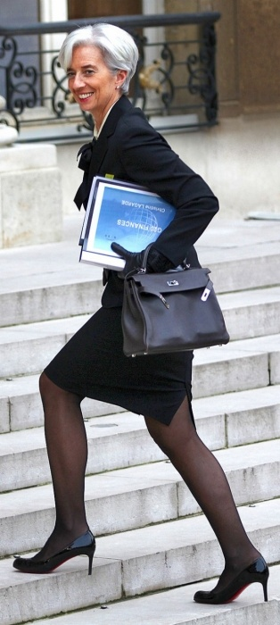 Christine Lagarde takes over the world.: Hermes Sigh, Claire Styles, French Stylesetters, Silver Hair, Moda Style, French Finance