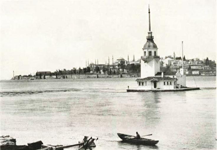 Bu tarihi yapının geçmişi M.Ö. 341 yılına kadar uzanır. #kızkulesi #istanbul