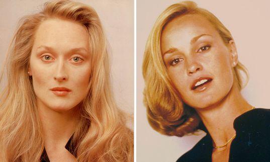 Young Meryl Streep and Jessica Lange | Les célébrités ...