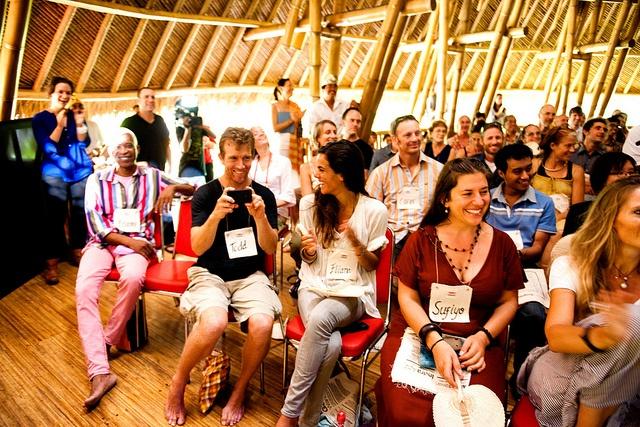 happy faces at TEDxUbud 2012 by TEDxUbud, via Flickr