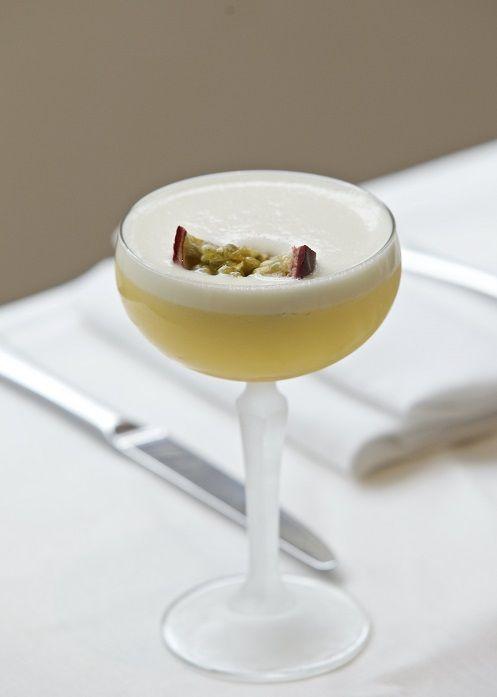 Our elegant passion fruit cocktail