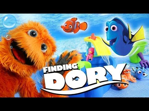 Disney Pixar Finding Dory Swim & Water Table Step 2 Water Toys for kids Nemo - YouTube