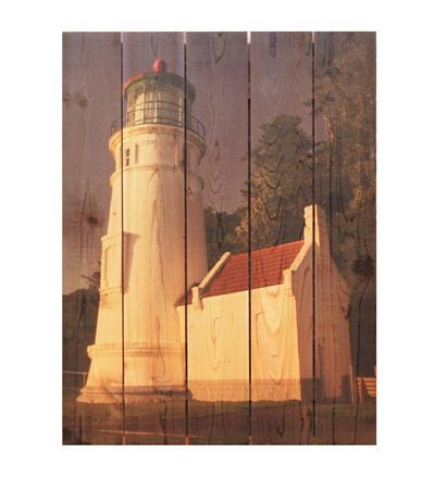 Handcrafted White Lighthouse Wall Art by Gizaun Art%26#153;clever idea with photo - could do with personal pictures?