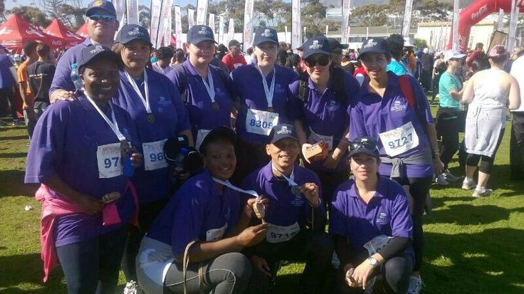 Blisters for Bread 10km Charity Walk - Lagoon Beach Hotel Team