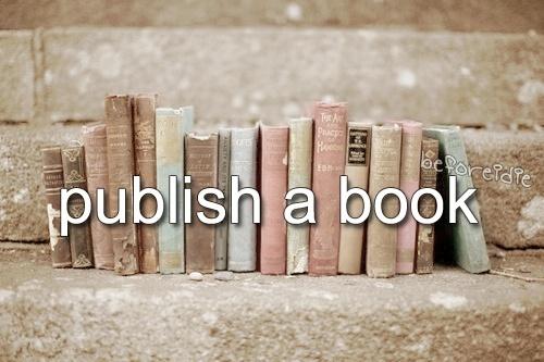 publish a book.