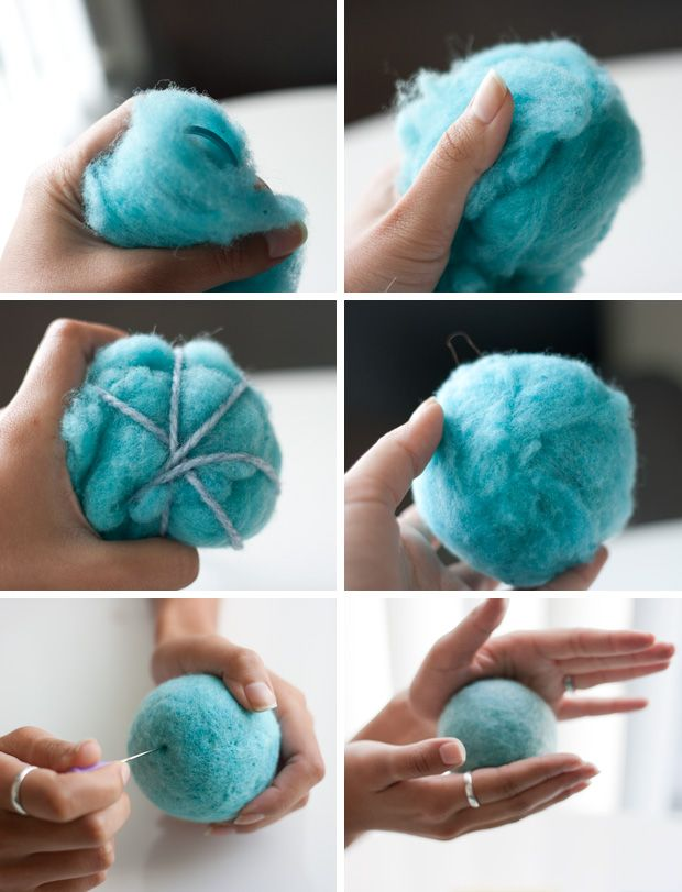 How To Make A Needle Felted Rattle Modify For Diy Cat