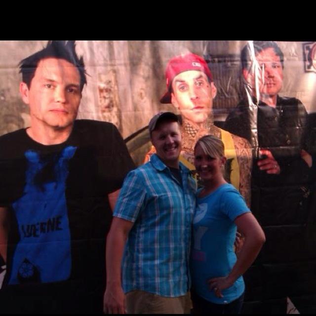 Blink 182  August 2011 Riverbend, Cincinnati