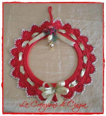 ...le mie CREAZIONI: Ghirlande natalizie - Fuoriporta